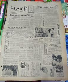 湖北日报1984年9月10日(4开四版)二轻产品武汉贸易中心今日正式开业;对供销社体改的一些想法。