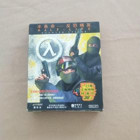 游戏光盘:半条命 反恐精英(2光盘+游戏手册)