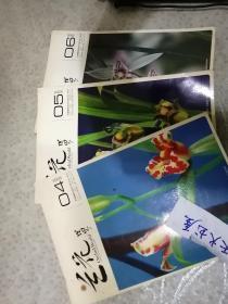 兰花世界(2005年第4期,5期,6期共三册)双月刊.平装大16开 可单售  品相如图