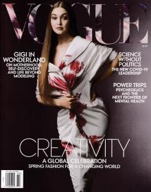 美国版 VOGUE 2021年3月 英文时尚潮流趋势服装杂志