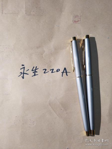 永生220A钢笔两支