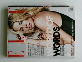 ELLE KOREA  2008年10月 NO.192 WORLD OF WORDS 韩语服装摄影时尚杂志 外文期刊