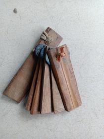 箱30,山东快板说书工具,带几个铜钱,年份自定,13*4*3cm