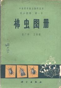 《中国科学院动物研究所昆虫图册 第一号  棉虫图册》【1972年一版一印,品如图】