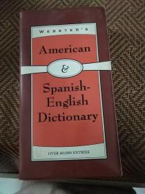 webster's american-spanish english dictionary