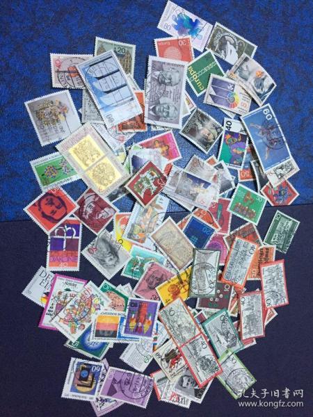 信销邮票100枚德国(2 )                                      (大部分是70年代和80年代的 无重复)店铺福利优惠邮票 邮票类多购付一次运费即可,付款前私信后台改价