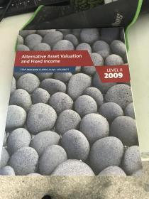 正版现货!Alternative Asset Valuation and Fixed Income, Level II, 2009, Volume 5.... 9780536537133