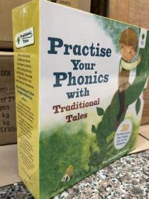 套装书【英文推荐】《牛津阅读树系列自然拼读法21册盒装》Oxford Reading Tree Practice Your Phonics 经典童话故事英文原版!尺寸 22×22。页数 24页 每册