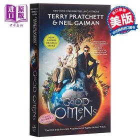 好兆头 英文原版 Good Omens 美剧版本 尼尔盖曼 / Neil Gaiman T