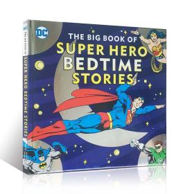 原版 The Big Book of Super Hero Bedtime Stories 睡前故事绘本