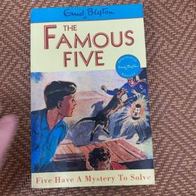 Famous Five (Classic Edition) 20: Five Have A Mystery To Solve 五伙伴历险记20:私语岛之谜