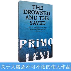 现货英文原版The Drowned & the Saved被淹没的和被拯救的Primo Levi普里莫.莱维