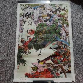 《百鸟图》浙江人民出版社出版