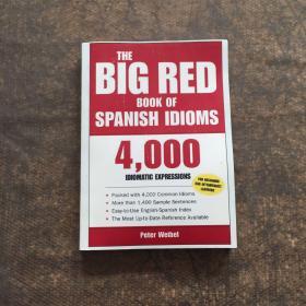 the big red book of spanish idioms 再印版 见图 避免争议