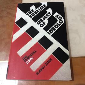 [英文]齐泽克《意识形态的崇高客体》The Sublime Object of Ideology, Slavoj Zizek, Slavoj Žižek 著名哲学家 齐泽克 作品(海外发货)
