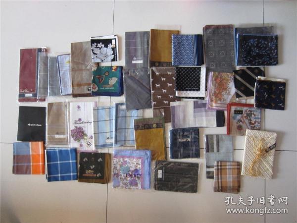 海外回流全新库存手帕手绢一些