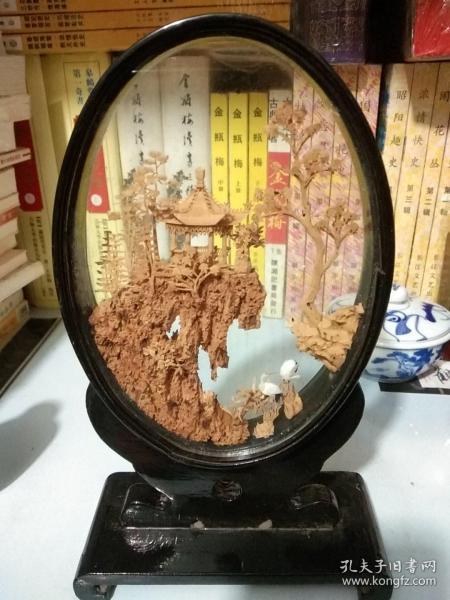 黄杨木雕摆件-早期创外汇产品