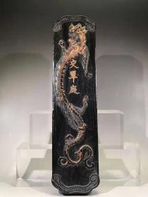 正宗徽州老墨交翠庭长27.8厘米