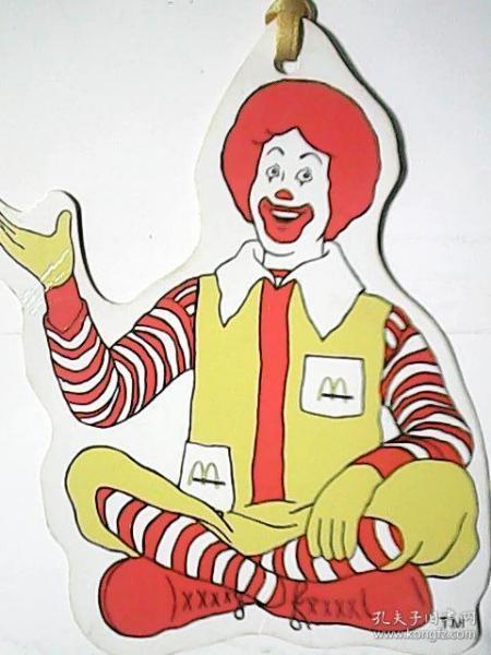 书签  255——麦当劳(这本书是:)