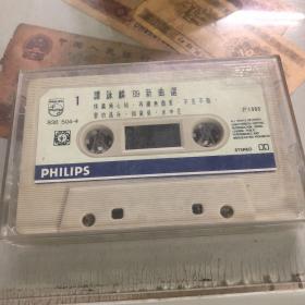 谭咏麟 89新曲选#老磁带 中图港版,播放正常,具体品相如图。二手物品,没有歌词封面。