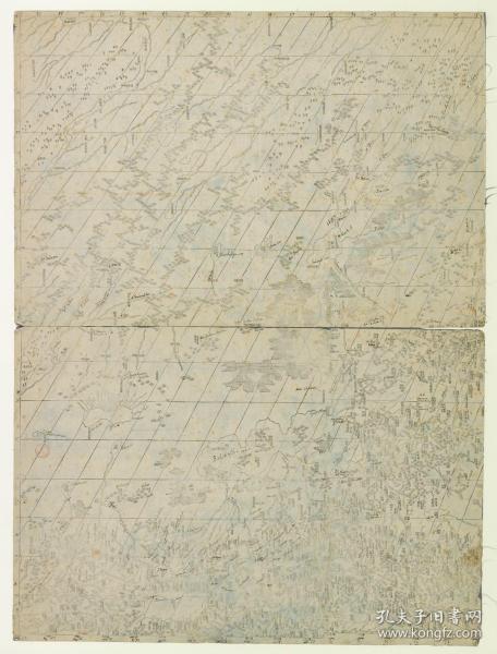 古地图1772中国地图。纸本大小73*96厘米。宣纸艺术微喷复制。