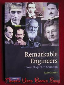 Remarkable Engineers: From Riquet to Shannon(英语原版 平装本)杰出的工程师们:从里凯到夏农