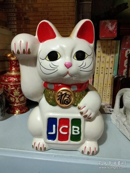 招财猫 摆件 储钱罐-瓷器