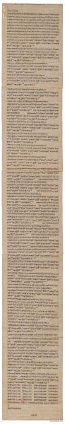 敦煌遗书 法藏 P4532佛说无量夀宗要经,张要要写。纸本大小30*195厘米。宣纸艺术微喷复制。