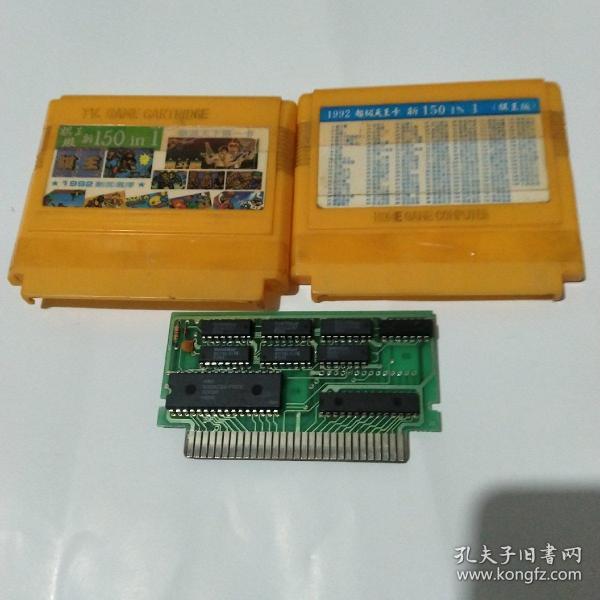 FC游戏卡:小霸王游戏卡150in1