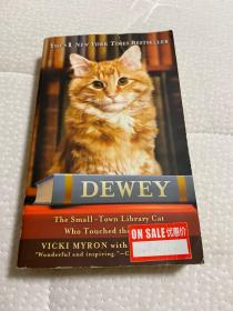 Dewey: The Small-Town Library Cat Who Touched the World[小猫杜威]