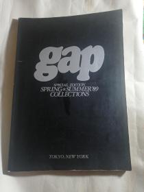 外文原版 gap特别版'89春夏男女服装流行趋势系列 设计大师集合东京 纽约 时装周作品发布(一本)