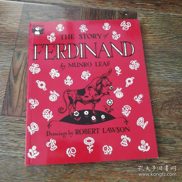 The Story of Ferdinand《爱花的牛,公牛历险记》