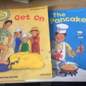 handbook    first stories level   1 get on the pancake 2本合售