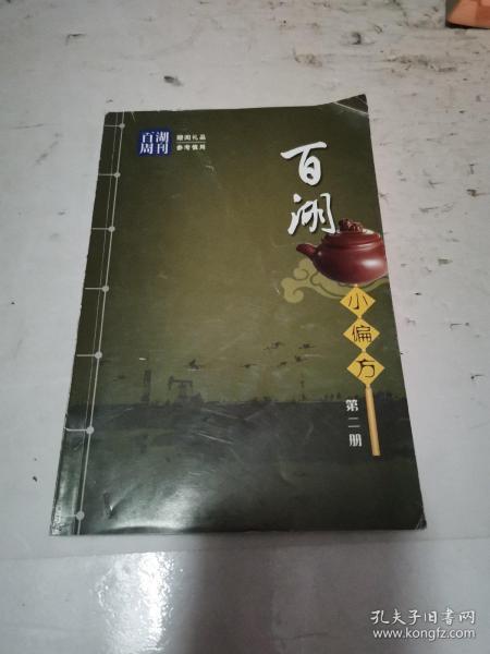 百湖小偏方 第二册