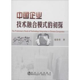 中国企业技术融合模式的初探
