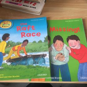handbook    first stories level   4 the faft race missing  2本合售