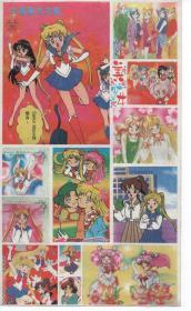 动画,动漫,卡通人物贴片《美少女战士》