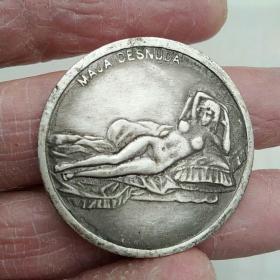 睡美人,达芬奇纪念币,外币
