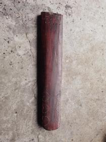 清代整木挖制古琴