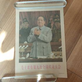 毛主席在第九次全国代表大会