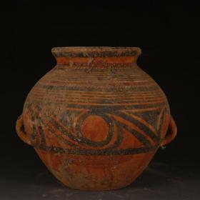 马家窑彩陶瓷罐