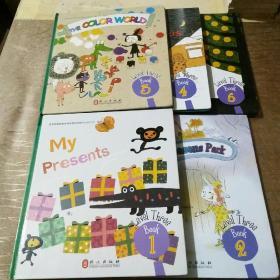 kids Brown2.0 Level3 (1-6缺5)(布朗儿童英语)5册合售