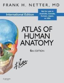 Atlas of Human Anatomy, International Edition人体解剖学图谱