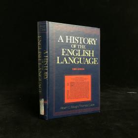1978年 A History of the English Language by Albert Croll Baugh 精装