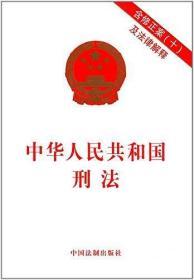 正版中华人民共和国刑法(含修正案(十)及法律解释)  中国法制出版社  作者  中国法制出版社 9787509389249