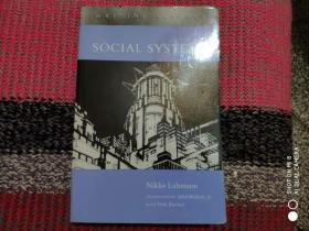Soziale Systeme: Grundriß einer allgemeinen Theorie(Social Systems, Stanford: ) 社会系统 Niklas Luhmann 尼古拉斯 鲁曼/卢曼 英文版