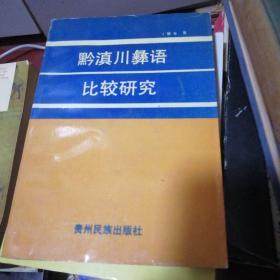 黔滇川彝语比较研究