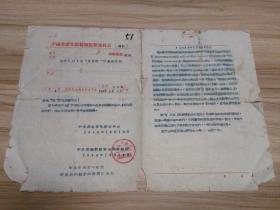 1956年中国共产党恩施县监察委员会有关取消对党员的处分问题的通知一张,品一般,包快递发货。