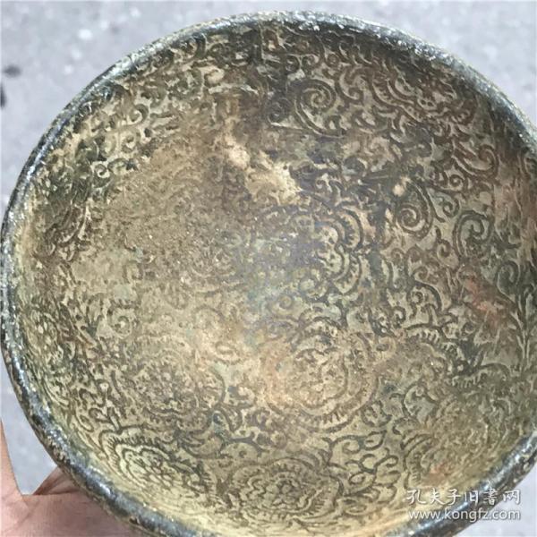 明清战国收藏仿古玩玉器高古玉古董玉璧岫玉把件老货玉石福碗玉碗