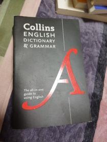 柯林斯法语词典及语法 英文原版工具书 Collins French Dictionary and Grammar 法英双语字典
